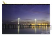 Cooper River Bridge Lights Glowing Carry-all Pouch