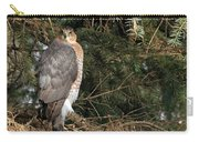 Coopers Hawk In Predator Mode Carry-all Pouch