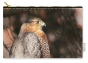 Coopers Hawk In Profile Carry-all Pouch