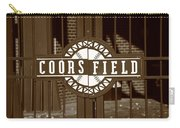 Coors Field - Colorado Rockies 15 Carry-all Pouch by Frank Romeo