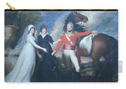 Copley's Colonel William Fitch And His Sisters Sarah And Ann Fitch Carry-all Pouch