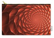 Copper Spiral Vortex Carry-all Pouch