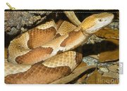 Copperhead Snake Carry-all Pouch