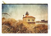 Coquille River Lighthouse - Texture Carry-all Pouch