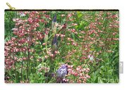 Coral Bells And Irises Carry-all Pouch