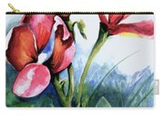 Coral Flower Study Carry-all Pouch