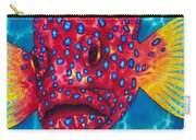 Coral Grouper Carry-all Pouch by Daniel Jean-Baptiste