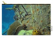 Coral Growth On A Ship Wreck Carry-all Pouch