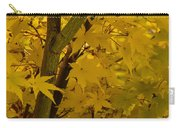 Coral Maple Fall Color Carry-all Pouch