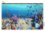 Coral Reef Blues  Carry-all Pouch