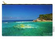 Coral Seas Haiti Carry-all Pouch