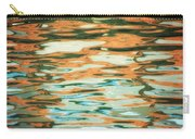 Coral Waves Carry-all Pouch