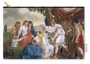 Coriolanus And His Mother Volumnia Carry-all Pouch