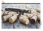 Corks With Corkscrew Carry-all Pouch