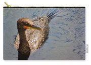 Cormorant After A Swim Carry-all Pouch