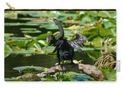 Cormorant And Turtle Carry-all Pouch