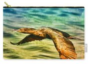 Cormorant On The Move Carry-all Pouch