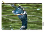 Cormorant With Catch Carry-all Pouch