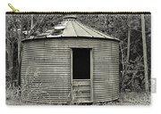 Corn Crib In Monochrome Carry-all Pouch