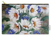 Corn Flowers Carry-all Pouch