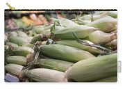 Corn On Display At Farmers Market Carry-all Pouch