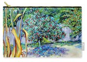 Corn Stalk And Apple Tree  Autumn Lovers Carry-all Pouch