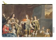 Cornelia And Her Jewels Oil On Canvas Carry-all Pouch