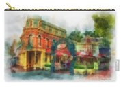 Corner Cafe Main Street Disneyland Photo Art 01 Carry-all Pouch
