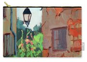 Street Corner In St. Colombe Carry-all Pouch