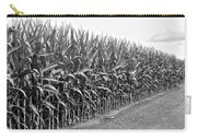 Cornfield Black And White Carry-all Pouch