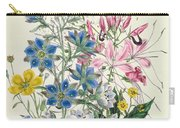 Cornflower Carry-all Pouch