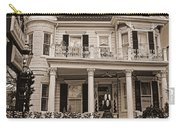 Cornstalk Fence Hotel Sepia Carry-all Pouch