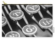 Corona Zephyr Typewriter Keys Carry-all Pouch