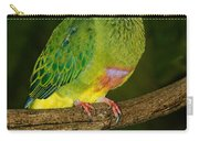 Coronated Fruit Dove Carry-all Pouch