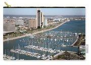 Corpus Christi Marina Aerial Carry-all Pouch