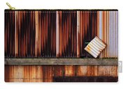 Corrugated Steel Mill Wall Alton Il Carry-all Pouch
