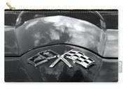 Corvette In Black And White Carry-all Pouch