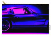 Corvette In Blue Carry-all Pouch