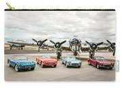 Corvettes And B17 Bomber Carry-all Pouch