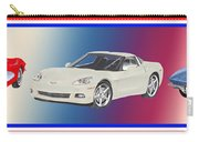 Corvettes In Red White And True Blue Carry-all Pouch