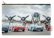 Corvettes With B17 Bomber Carry-all Pouch