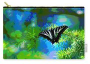 Cosmic Butterfly In The Pines Carry-all Pouch