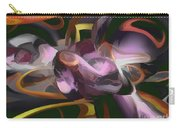 Cosmic Lightning Pastel Abstract Carry-all Pouch