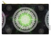 Cosmic Medallians Rgb 1 Carry-all Pouch