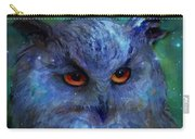 Cosmic Owl Painting Carry-all Pouch