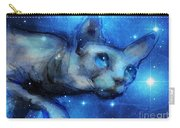 Cosmic Sphynx Cat  Carry-all Pouch