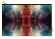 Cosmic Spine Deep Space Reflection Carry-all Pouch