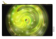 Cosmic Swirl - Use Red-cyan Filtered 3d Glasses Carry-all Pouch