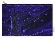 Cosmic Tree Blue Carry-all Pouch