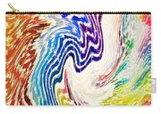 Cosmic Waves Vertical Carry-all Pouch